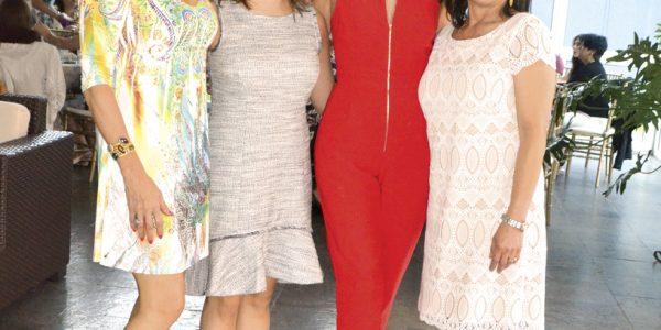 Aracely Maradiaga, Morela López, Molly Espinal y Pina López