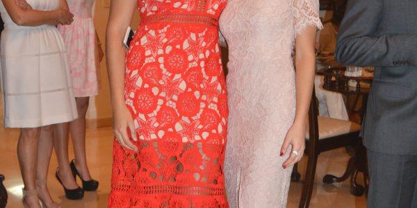 Alejandra Cornavaca y Anita Bueso