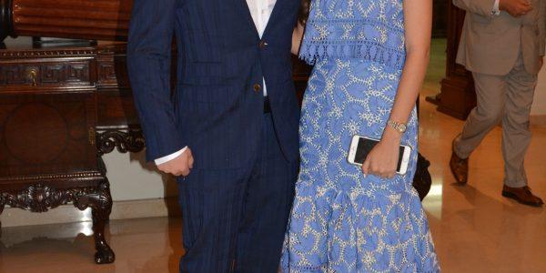 Gabriel Argüello y Marcela Cabezas
