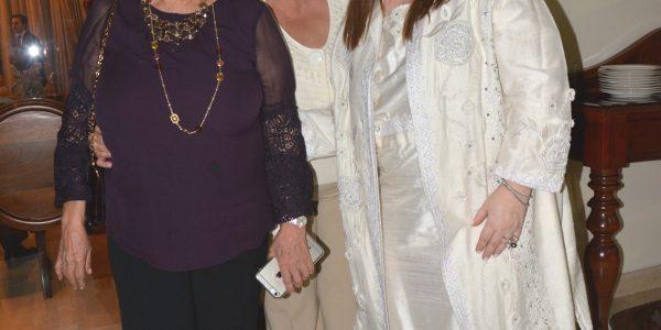 Lily Faraj, Ángela Casco y Debbie Kafati