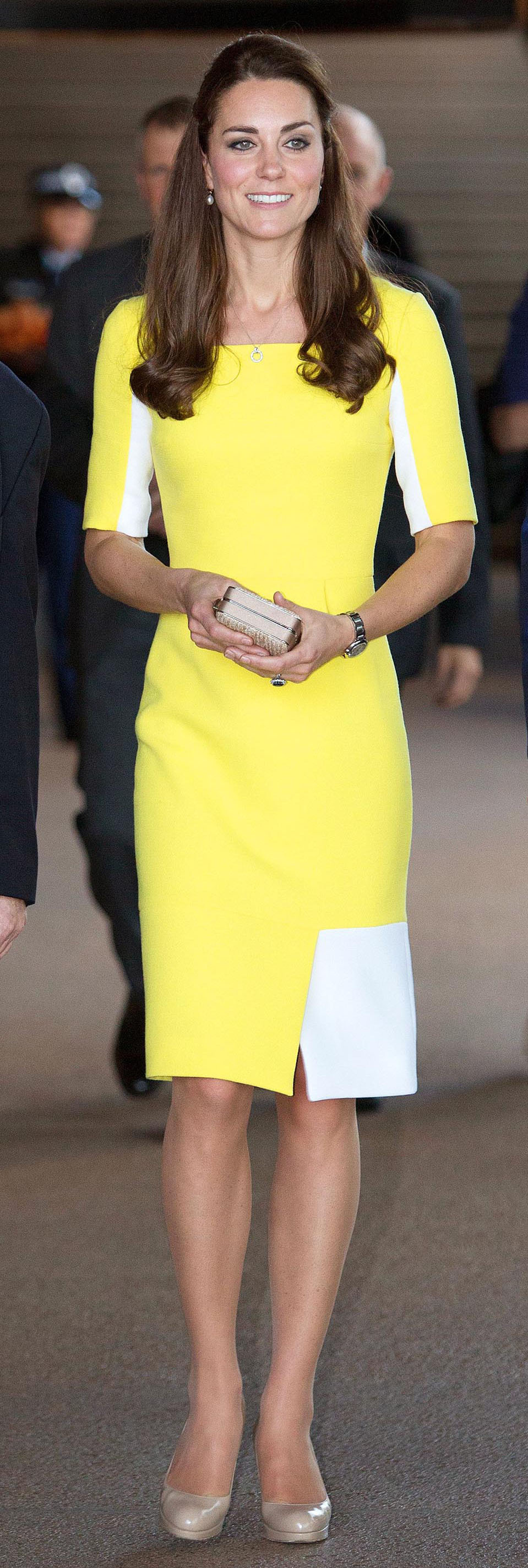 Prince William, Catherine Duchess of Cambridge and Prince George Visit Sydney