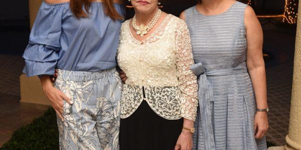 Alia, Noly y Nadia Kafati