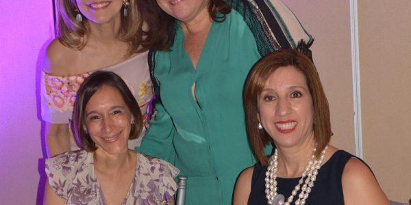 Carla Barletta, Audelia Dabdoub, Sussette Zacapa y Mayte Bendaña