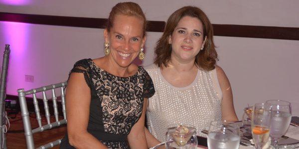 Carmen Fernández y Janina Bandy