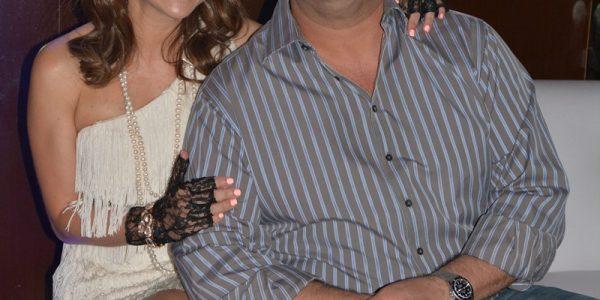 Sandy y Munir Ganineh