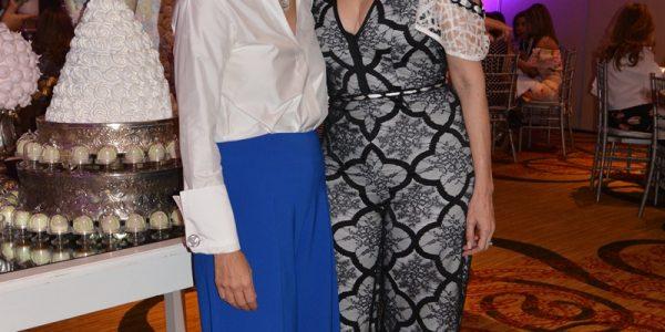 Leyla Chahín y Betsy Rodríguez