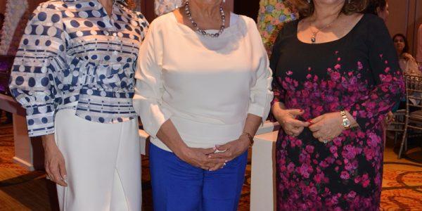 Sandra Canahuati, Lily Faraj y Suyapa Fuschich