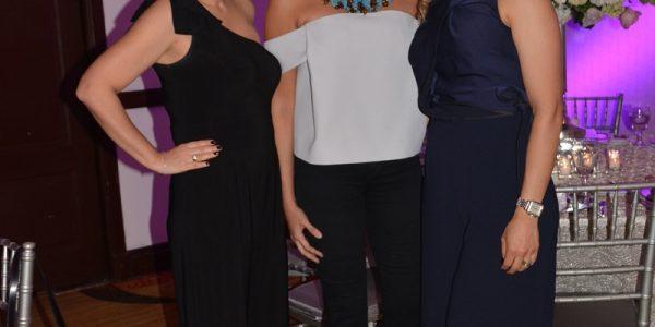 Stephanie Marinakys, Melissa Garza y Laura Mazzu