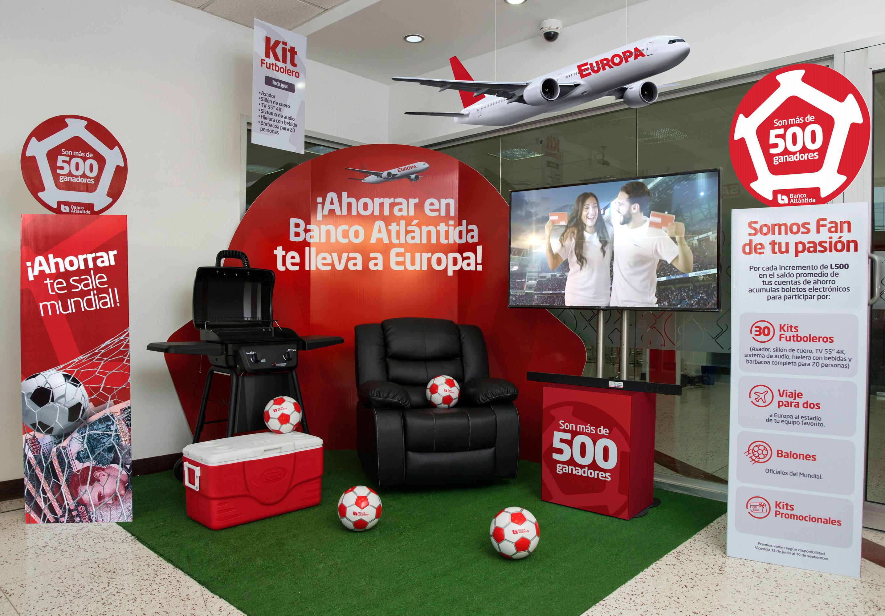 Banco Atlántida realiza segundo sorteo de su promoción de ahorro