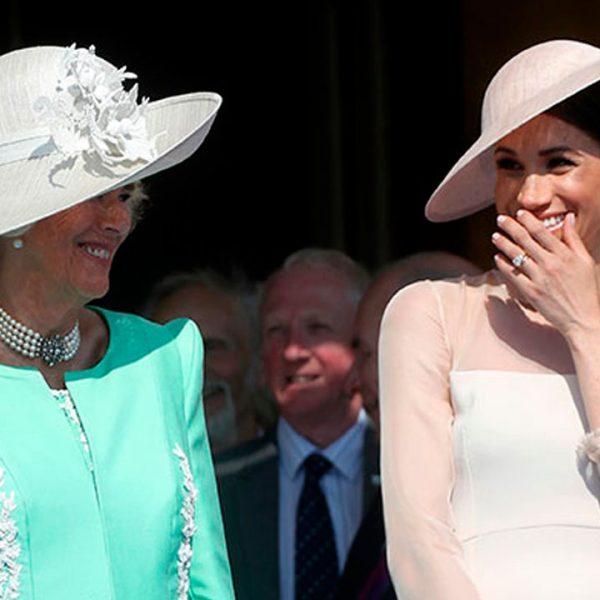 Camila le da la bienvenida a Meghan Markle de la misma manera que a Kate Middleton