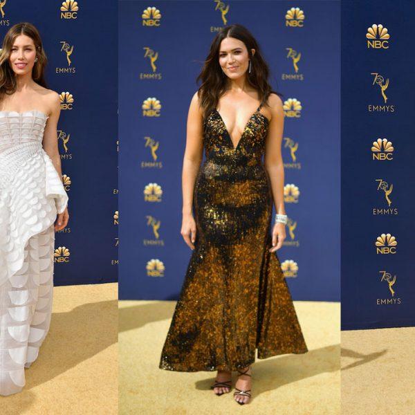 Los mejores looks de la alfombra roja de los premios Emmys 2018
