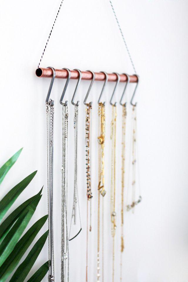 Ideas para organizar tus joyas