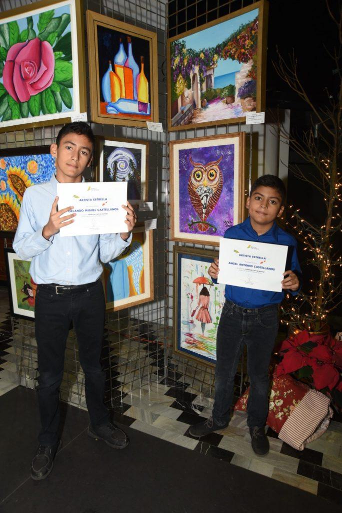 """Ficensa presenta exposición de pintura """"Arte en Navidad"""""""