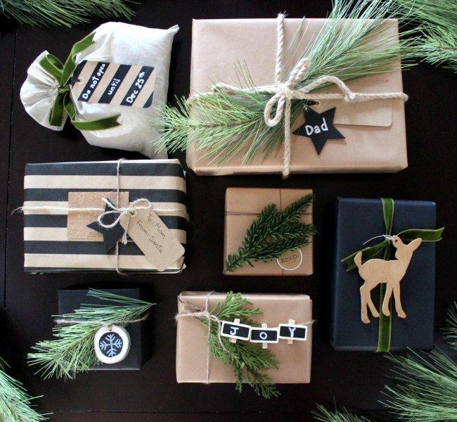 Ideas para envolver tus regalos de navidad