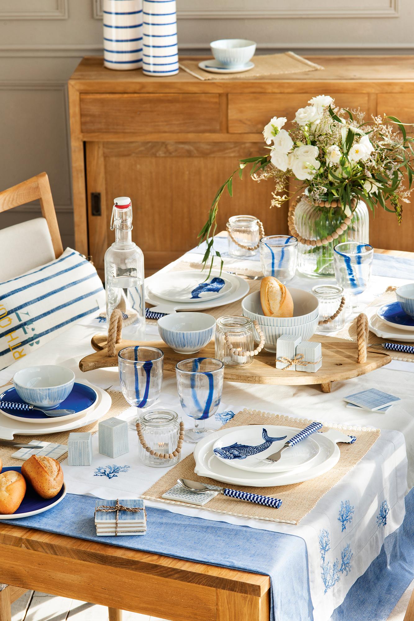 8 ideas para decorar tu mesa este verano