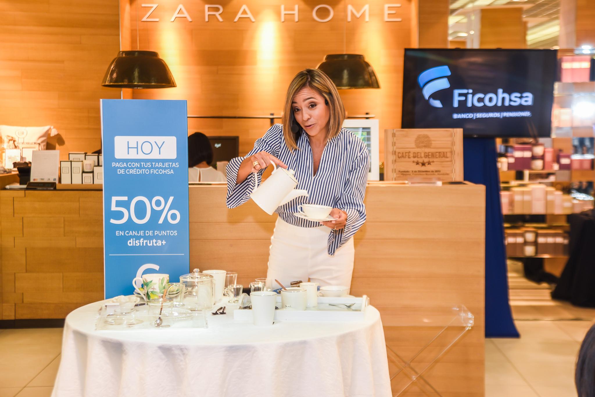 Tardes de té con Zara Home, Multiplaza y Ana María Dieckman
