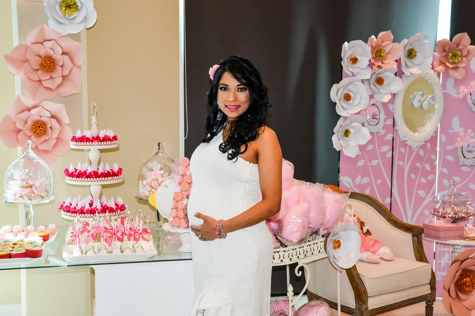 ¡It's a girl! Baby shower para Sarahí Sánchez