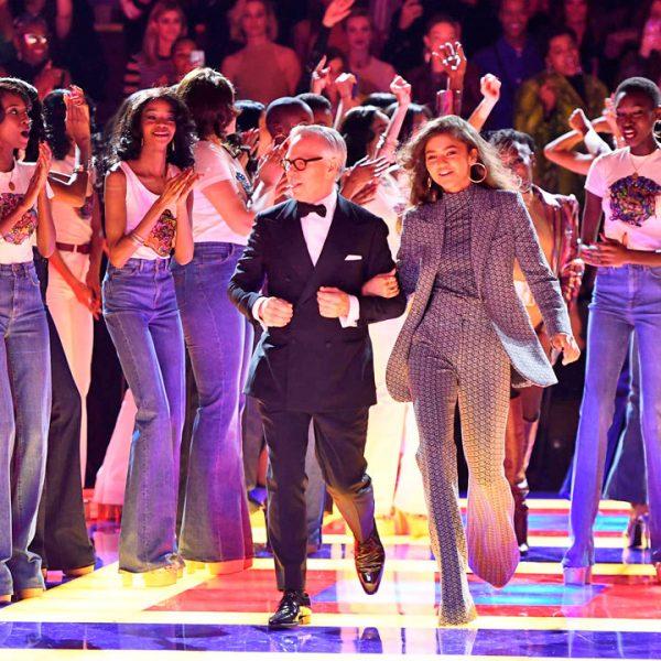 Tommy Hilfiger x Zendaya en una espectacular pasarela en París Fashion Week