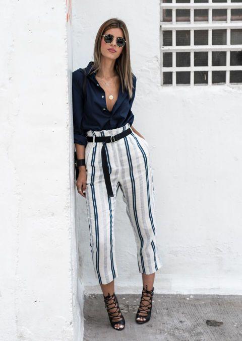 Como Combinar Pantalones Rayados Para Un Look Perfecto Pagina 12 De 14 Cromos