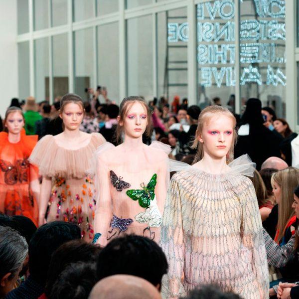 Valentino París Fashion Week 2019