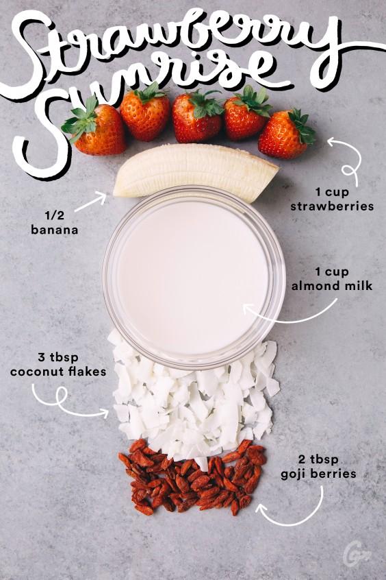 Smoothies con 5 ingredientes