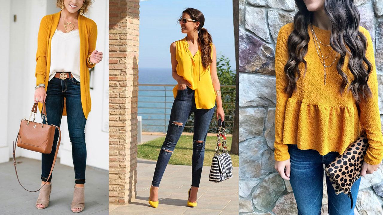Cómo combinar tus jeans según su color