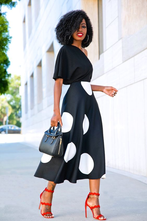 Cómo lucir el Polka Dot en tus outfits