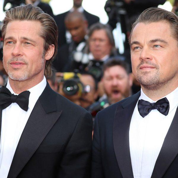 Leonardo DiCaprio y Brad Pitt llegan a Cannes