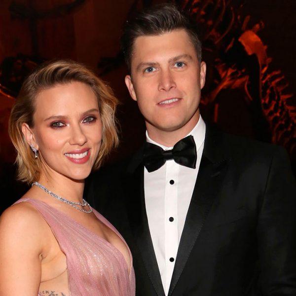 Scarlett Johanson se compromete con Colin Jost después de dos años de noviazgo