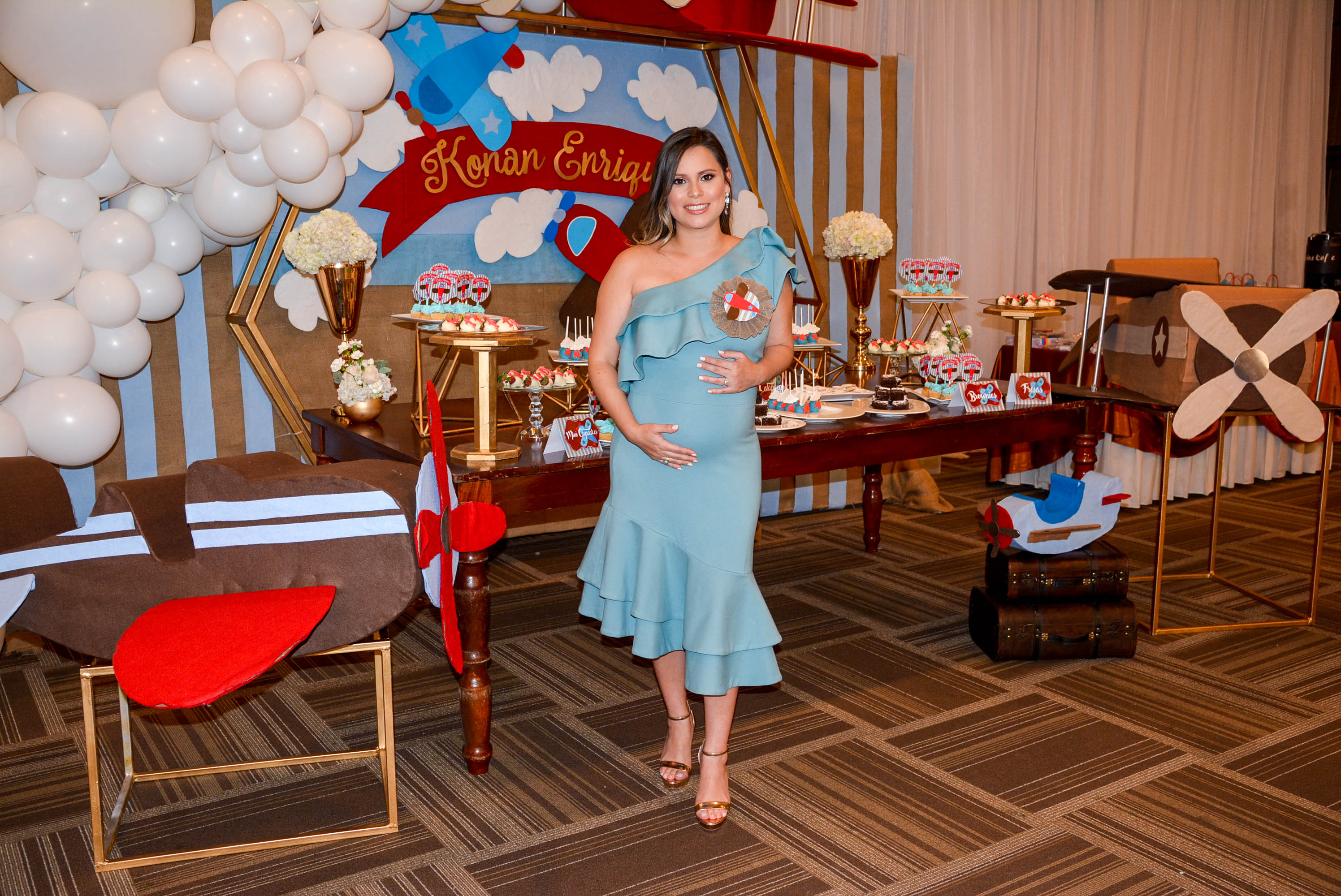 It's a boy! Baby Shower para Rossy Morales