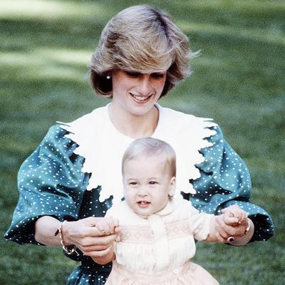 El príncipe William a través de los años