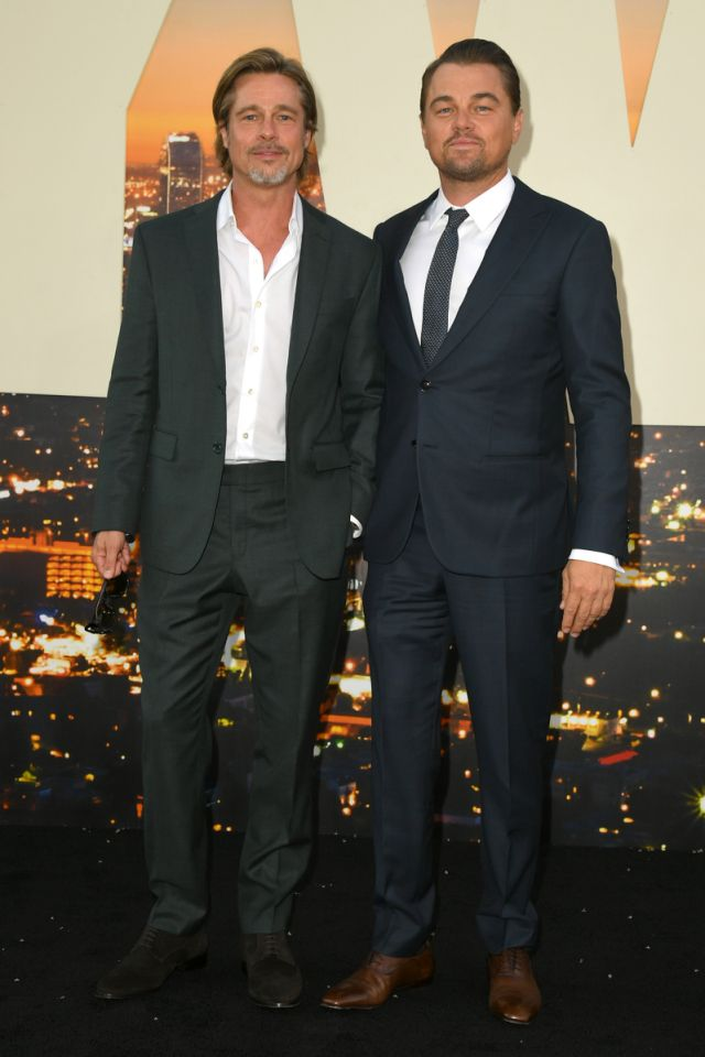 Leonardo DiCaprio, Brad Pitt y más en la alfombra roja para el estreno de Once Upon a Time in Hollywood