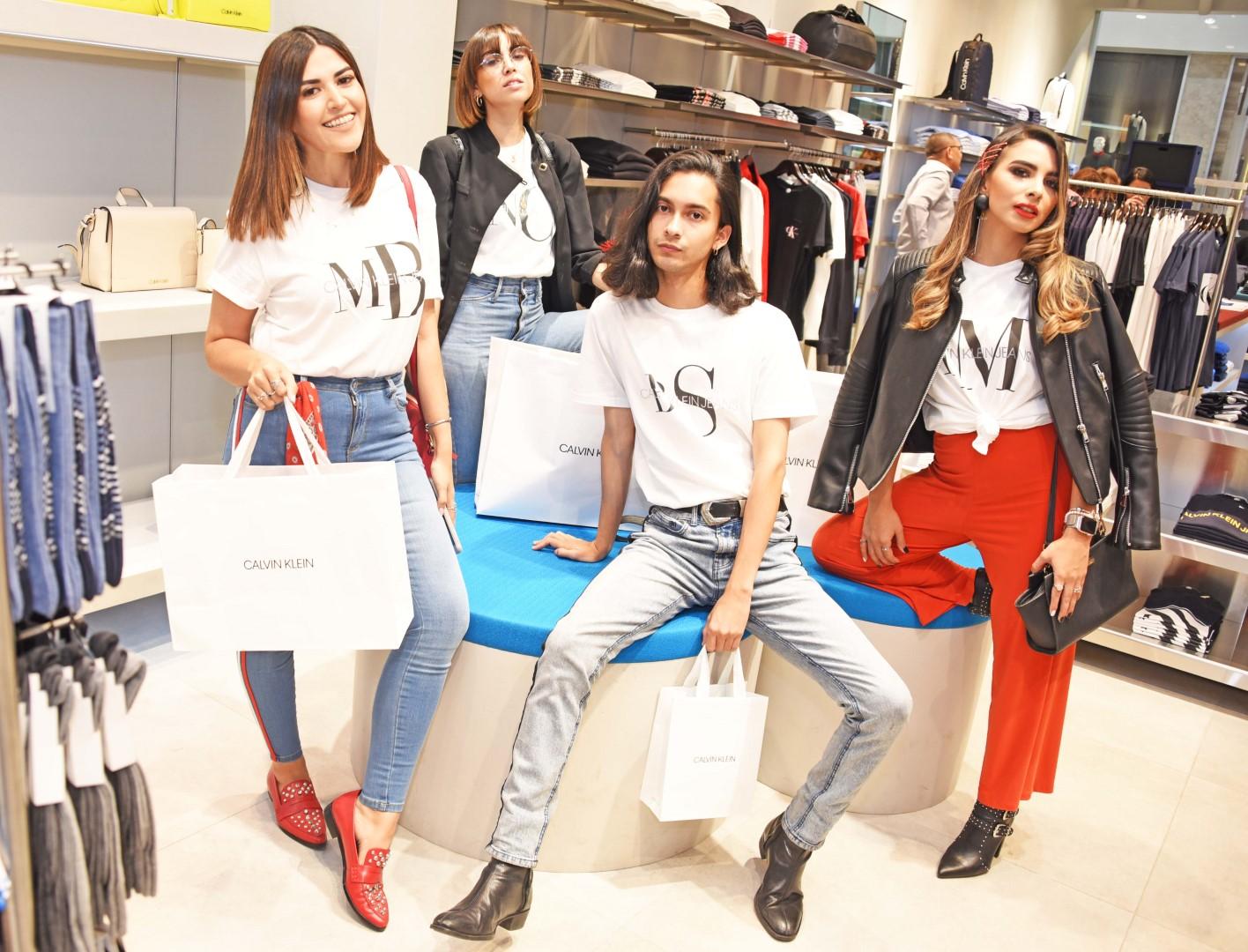 Lanzamiento de promoción Calvin Klein en Mall Multiplaza