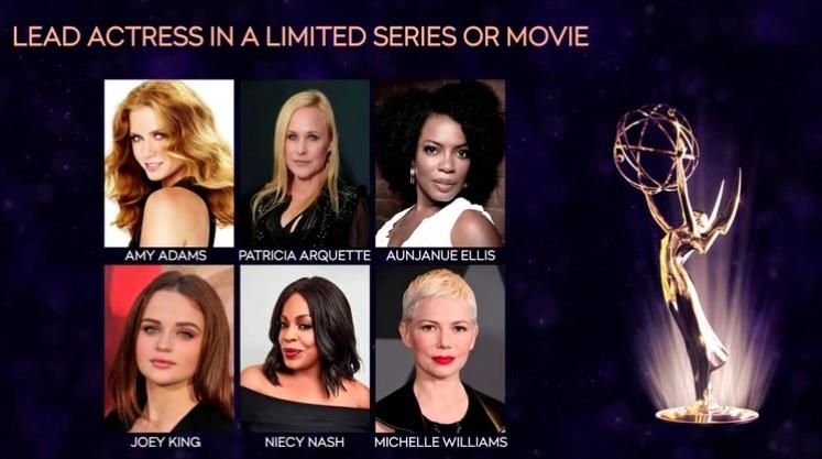 Los nominados a los premios Emmy 2019