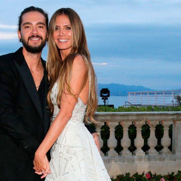 Heidi Klum y el músico Tom Kaulitz se casan en secreto