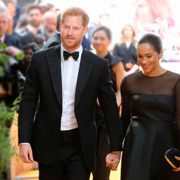 Meghan Markle camina su primera alfombra roja como duquesa en el estreno de The Lion King