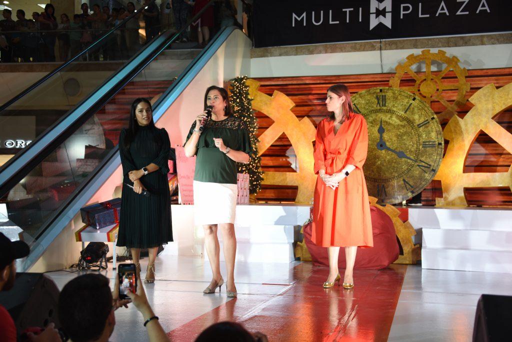 Multiplaza, primer centro comercial en inaugurar la Navidad 2019 junto a sus aliados BAC Credomatic y American Express