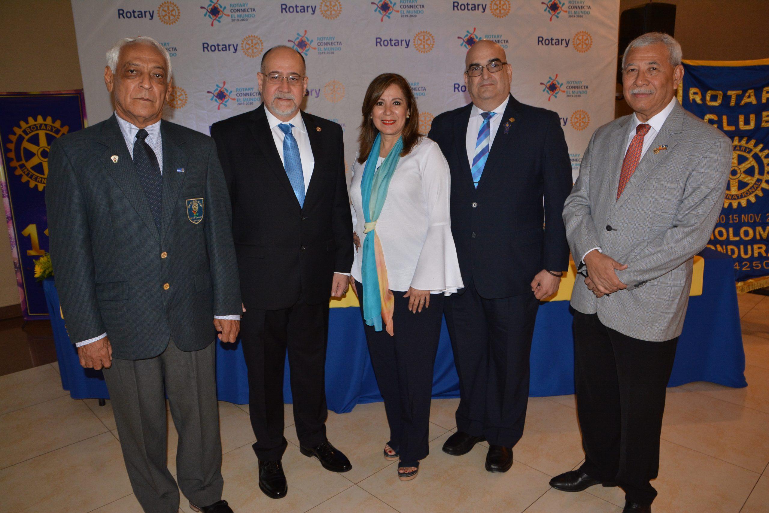 Alegre aniversario de Rotary International