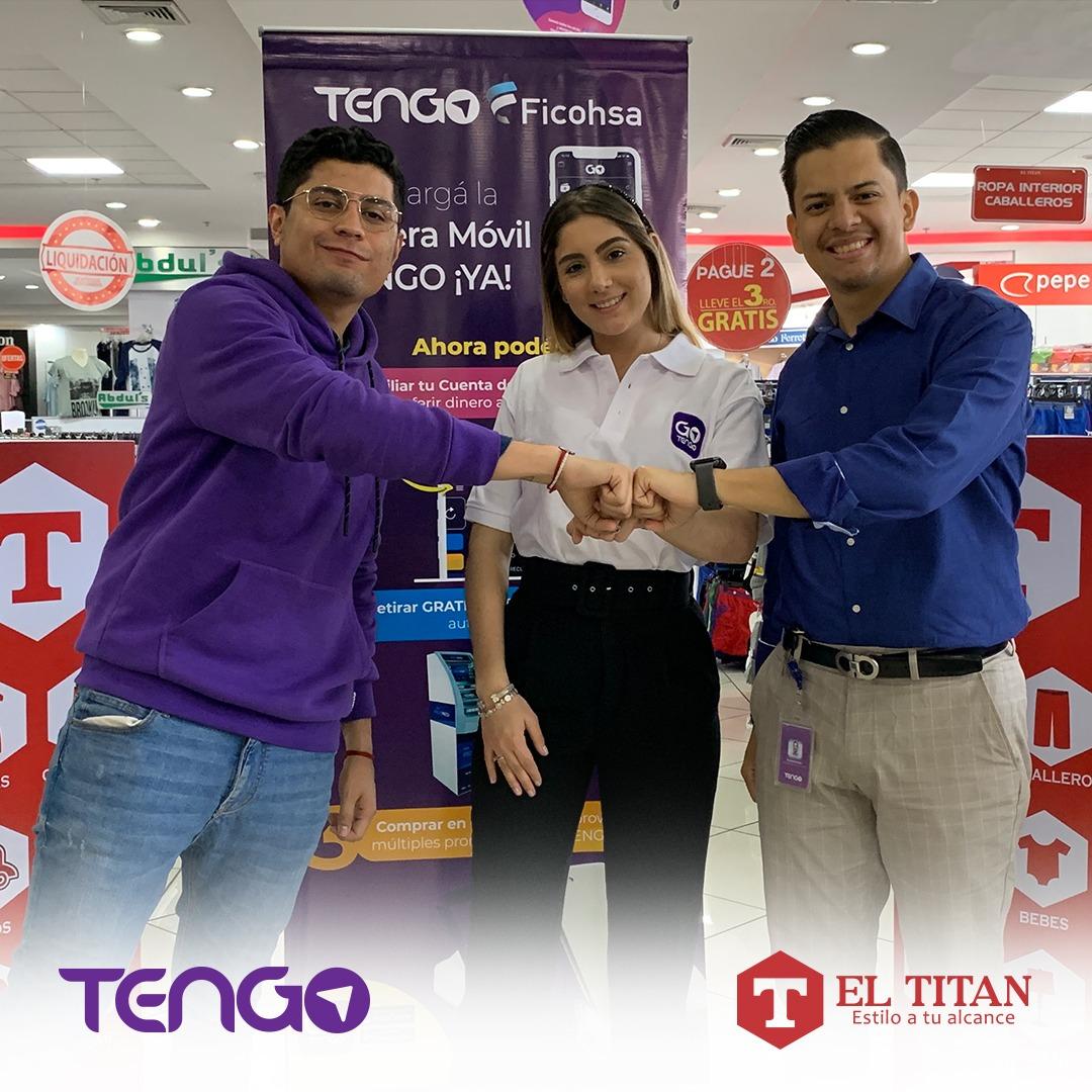 TENGO y EL TITAN establecen alianza comercial para facilitar la vida de los hondureños