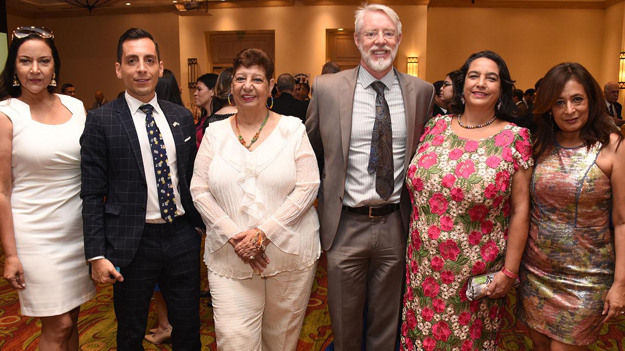El embajador de la República Dominicana visita Honduras