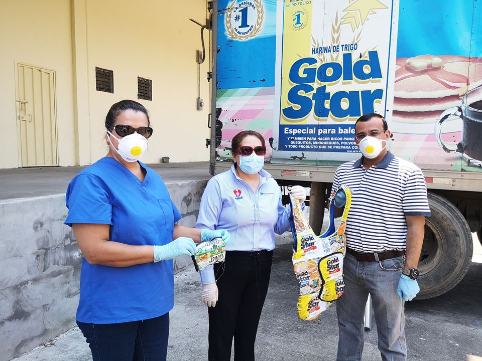 Grupo Jaremar da un millón de lempiras en productos de sus marcas con el objetivo de apoyar a hospitales que brindan atención por COVID-19