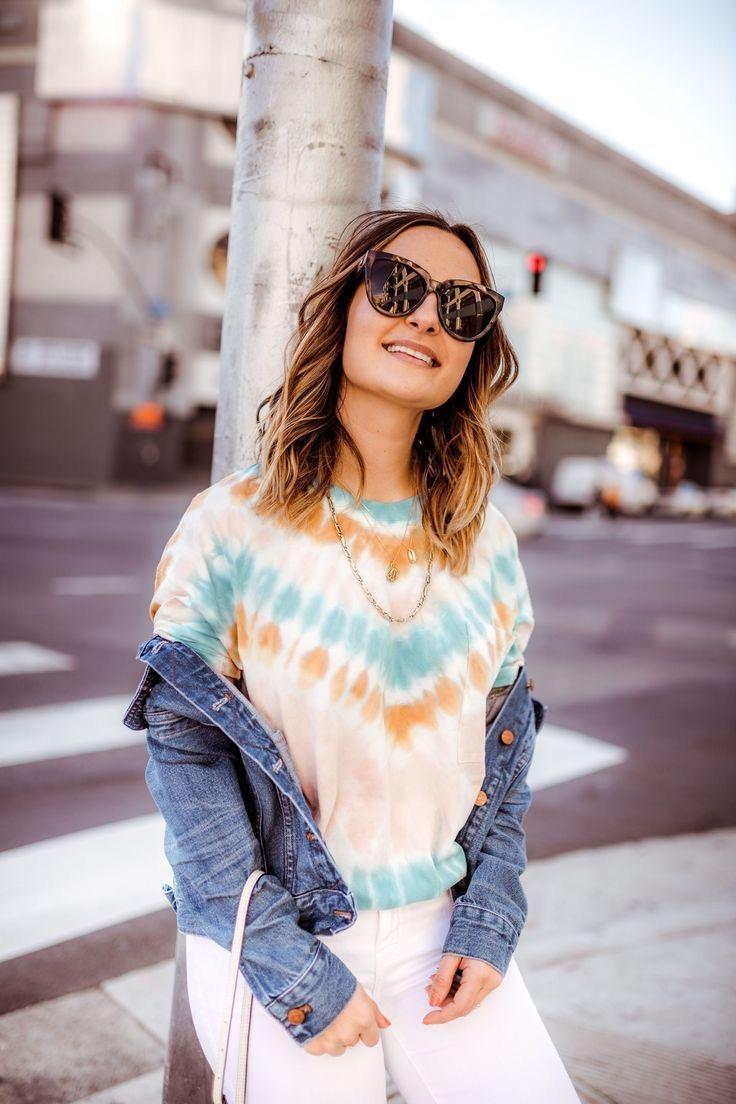 Tie dye: la tendencia que arrasa en la cuarentena