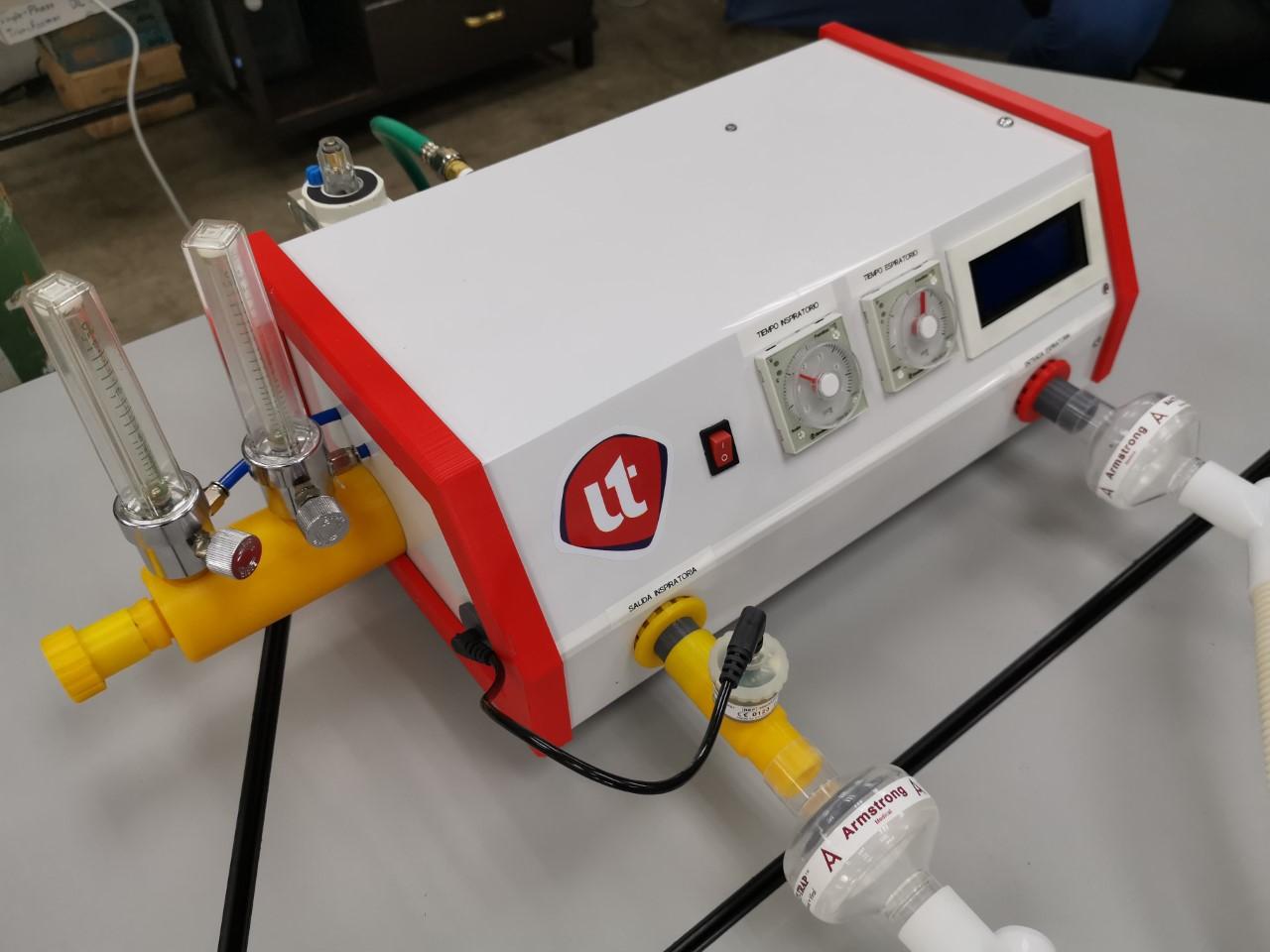 Ingenieros de UNITEC desarrollan prototipo de ventilador mecánico pulmonar para pacientes con COVID-19 en Honduras