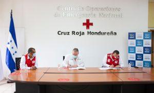 Nestlé Hondureña entrega 40 mil dólares a la Cruz Roja Hondureña para la primera línea de apoyo en emergencia sanitaria