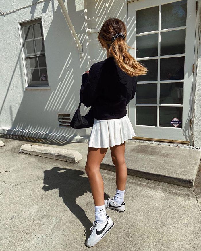 La última tendencia: faldas de tennis