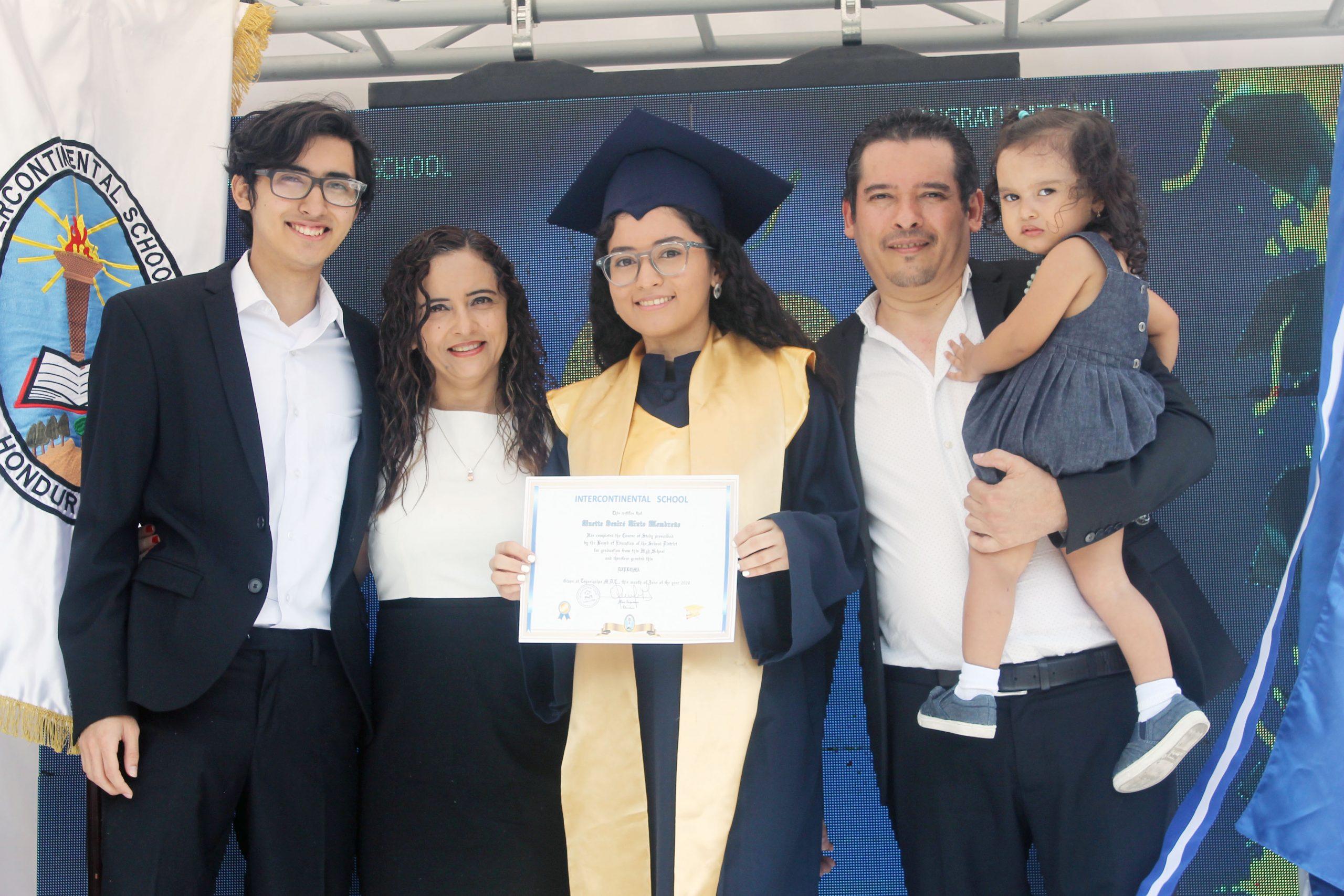 Graduación Intercontinental School 2020