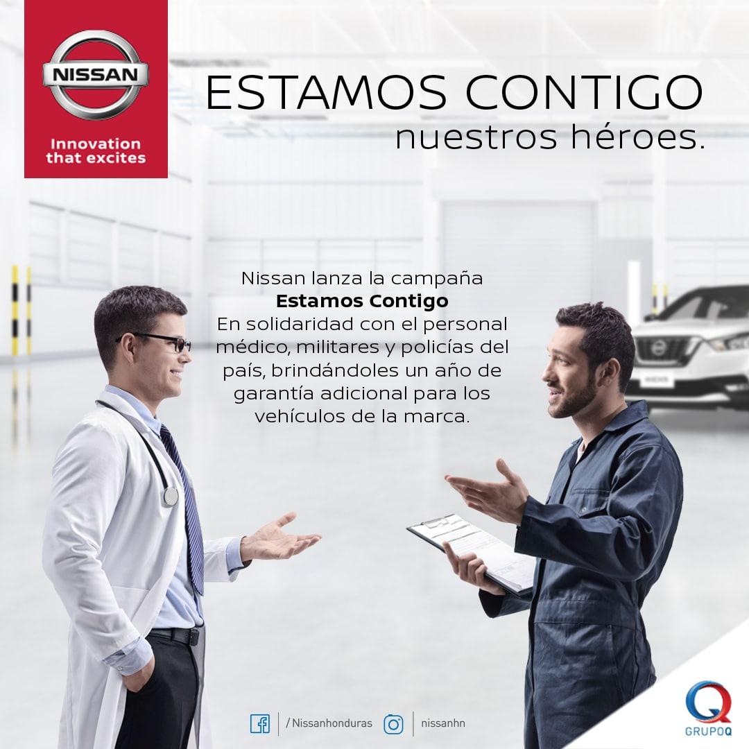 Nissan extiende la garantía de sus vehículos a los héroes de primera línea que luchan contra el COVID – 19