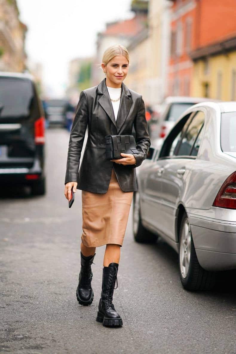 Combat boots: como lucirlas e inspiración para tus outfits