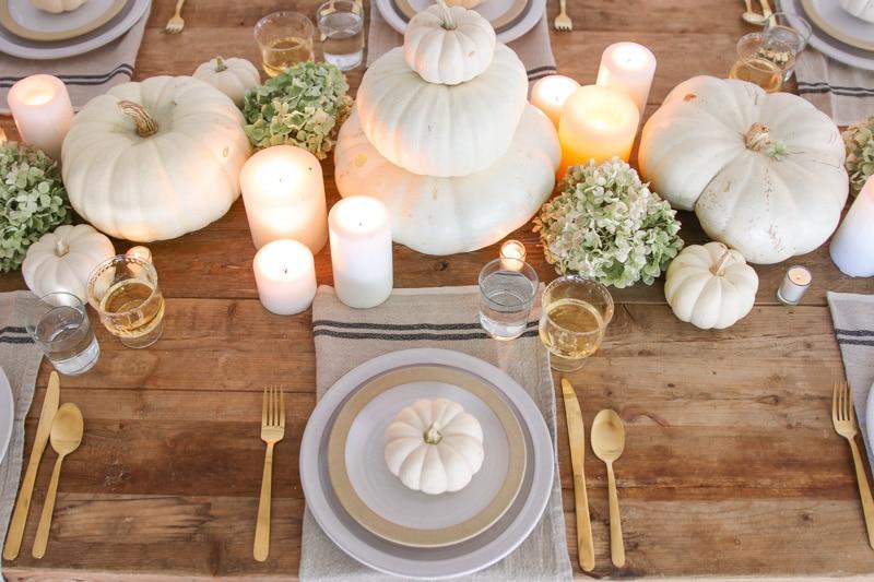 Como decorar tu mesa de Acción de Gracias