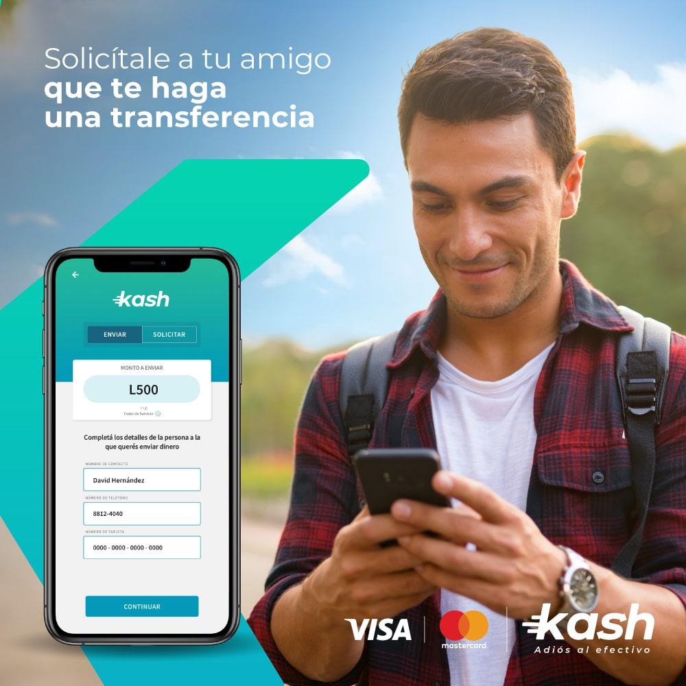 Dile adiós al efectivo con Kash, la nueva aplicación móvil que permite transferir dinero en tiempo real